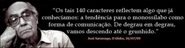 Saramago over Twitter