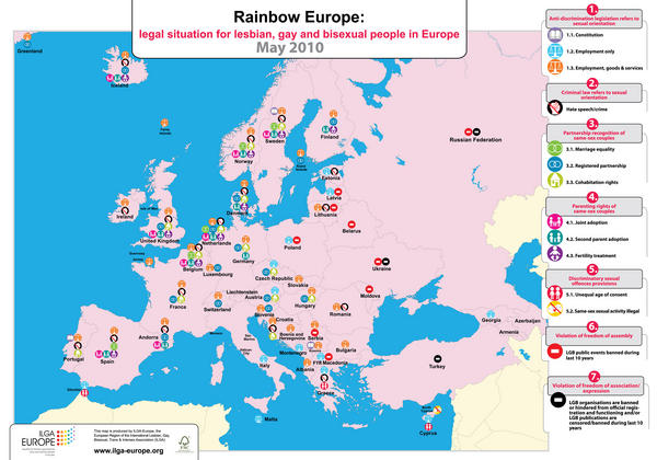 Rainbow Country Europe Index 2010