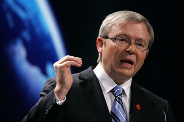 Former Prime Minister Kevin Rudd