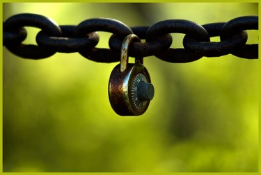 Locked & Chained, photo by flickr-user .Bala