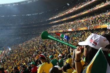 Una Vuvuzela a Soccer City