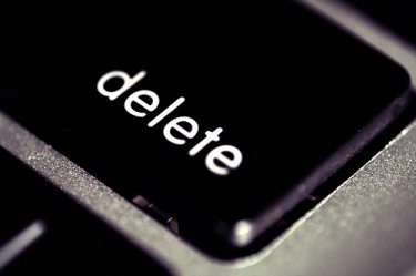"""Delete"", photo by flickr-user M_i_x_y"