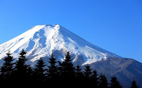 De berg Fuji / 富士山(ふじさん)