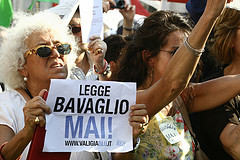 No Gag Rule protest, Piazza Navona, Rome, 1 July (CC BY-NC-SA)