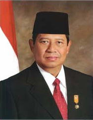 ইন্দোনেশিয়ার রাষ্ট্রপতি সুশিলো বাম্ব্যাং ইয়োধোইয়োনো