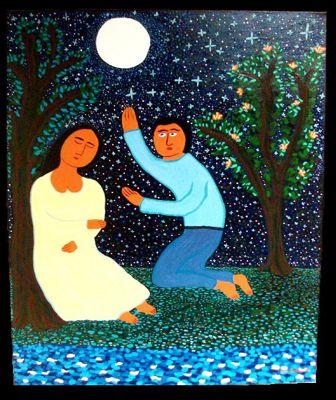 Dajem ti Mesec i zvezde od Luisa Akoste, objavljeno uz dozvolu