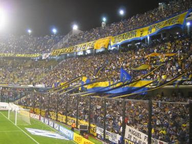 La Bombonera, agosto 2005