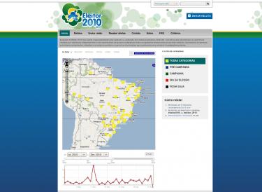 Website Eleitor 2010