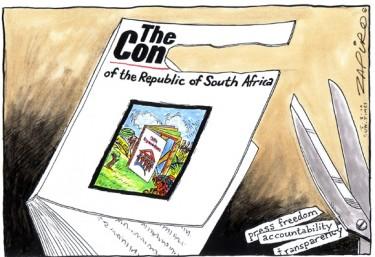 Vignetta di Zapiro