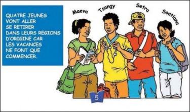 La Costituzione del Madagascar spiegata a fumetti