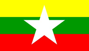Nieuwe vlag van Myanmar