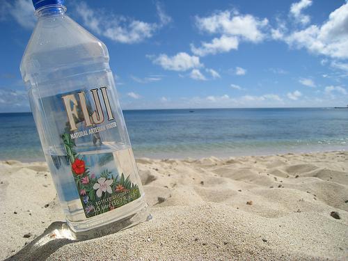Fiji water...