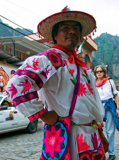 Huicholes: A group of Native People from Mexico image by Flickr Commons user edcarsi used under a Creative Commons Attribution-Share Alike license