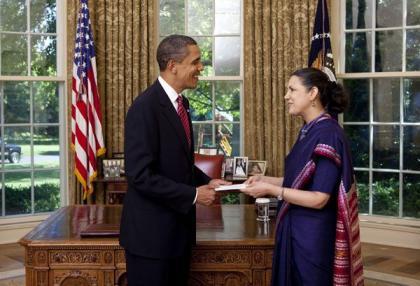 L'ambasciatrice Meera Shankar