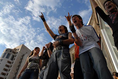 Festa della musica a Yerevan