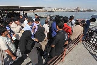 Lo sciopero di Bandar-Abbas