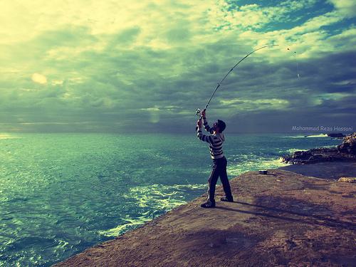 A pesca in Libano
