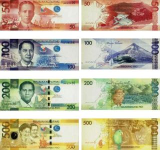 Nuove banconote filippine