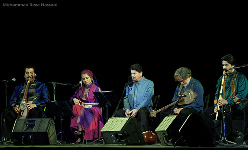 Il concerto di Shajarian