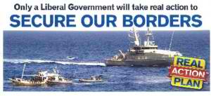 Stop the boats - Australian Liberal Party election poster