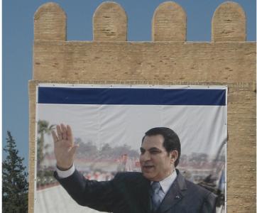 Immagine di Ben Ali in Tunisia