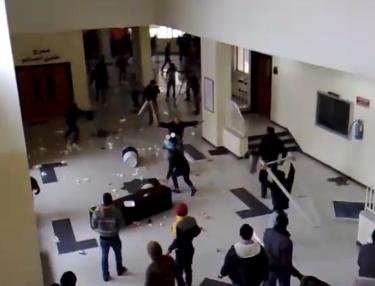 Violencia en la universidad de Jordanía