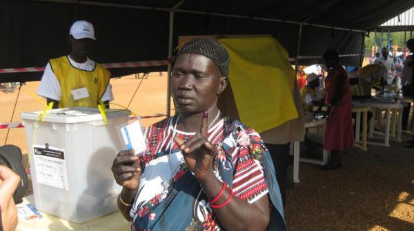 الاستفتاء التاريخي لجنوب السودان