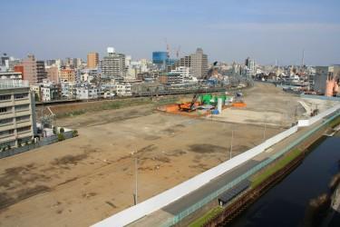 Cantiere della Tokyo Sky Tree