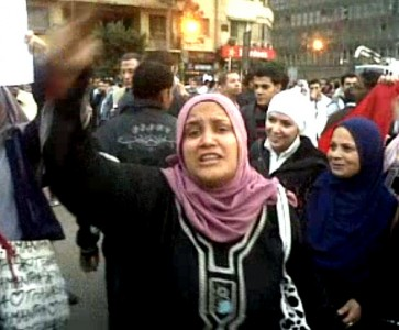 Donne egiziane in protesta