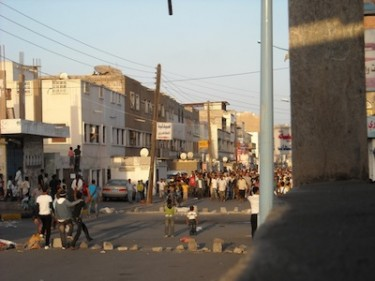 #today #youth #protest in #almansurah #aden #yemen Image by Twitpic user snuraddin.