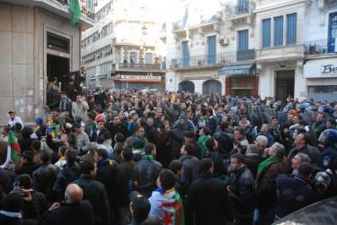 Manifestazioni in Algeria