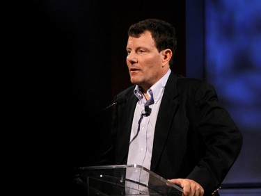 Nicholas Kristof, the New York Times columnist, and two-time Pulitzer Prize winner. Image by Flickr user caribbeanfreephoto.