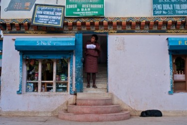 Bhutan is introducing more and more taxes to its people. Image by Morgan Ommer, copyright Demotix (15/02/09).