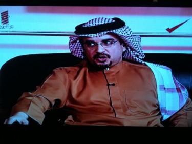 Príncipe de la Corona de Bahréin Shaikh Salman bin Isa Al-Khalifa