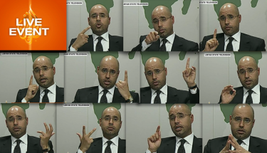 Colonel Gaddafi's son