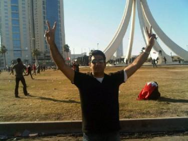 blogger @RedhaHaji reaching Lulu Roundabout