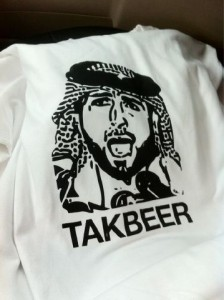 TAKBEER T-shirt for charity