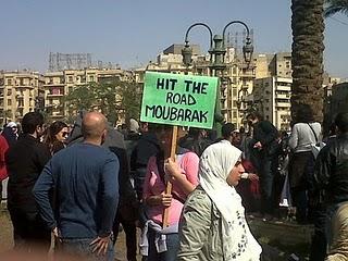 Foto van het straatbeeld in Caïro, van Tarek Amr