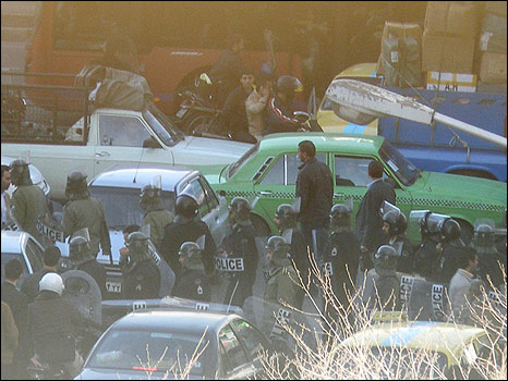 14 febbraio 2011: proteste a Teheran