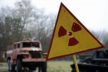 Comparisons have been drawn between Fukushima and Chernobyl already, although science bloggers have advised restraint. Image by Osakabe Yasuo, copyright Demotix (04/06/2009).