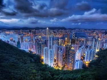 Hong Kong at dusk. Image by Flickr user Stuck in Customs (CC BY-NC-SA 2.0).