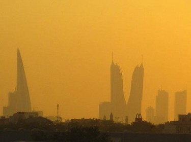 View from Bahrain International Airport. Image by Flickr user stephen_bostock (CC BY-NC 2.0).