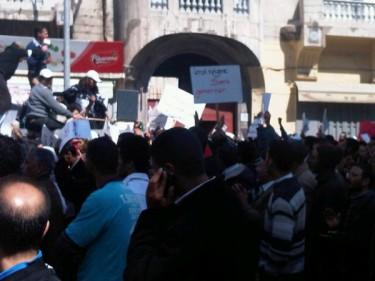 Manifestazione a Casablanca