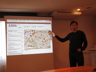 Alexey Shaposhnikov, creator of StreetJournal.org