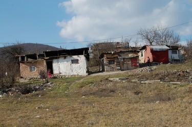 Un campo Rom illegale in Slovacchia