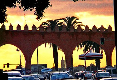 Rabat sunset, Morocco. Image by Flickr user }{enry (CC BY 2.0).