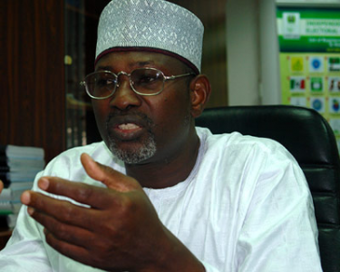 Attahiru Jega, a professor of Political Science and head of the Independent National Electoral Commission.