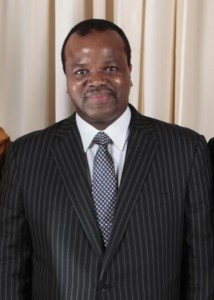 King Mswati III of Swaziland. Official White House Photo by Lawrence Jackson, in public domain.