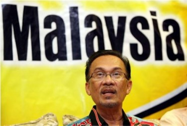 Malaysian opposition leader Anwar Ibrahim. Image by Flickr user KamalSelle (CC BY 2.0).