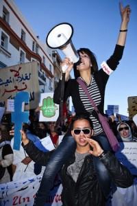 Young Moroccans keep on demanding constitutional reform, Rabat, Morocco. Image by Zacarias Garcia, copyright Demotix (20/03/2011).